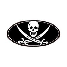 Pirate flag Patches
