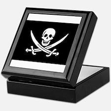 Pirate flag Keepsake Box