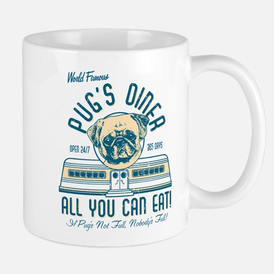 PUGS DINER FAWN Mugs