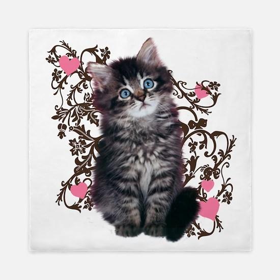 Cute Kitten Kitty Cat Lover Queen Duvet