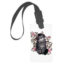 Cute Kitten Kitty Cat Lover Luggage Tag