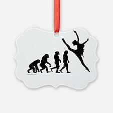 Evolution of Dance Ornament