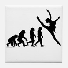 Evolution of Dance Tile Coaster