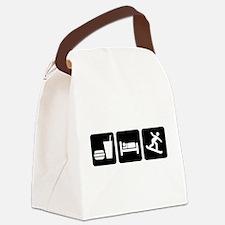 EatSleepSnowboardDesign2.png Canvas Lunch Bag