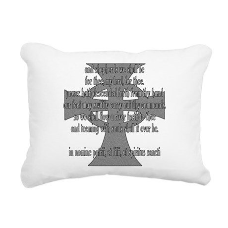 Brothers Creed Rectangular Canvas Pillow