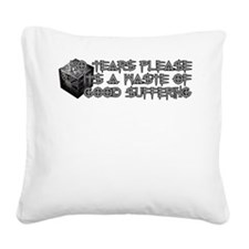 CenobiteDesign2.png Square Canvas Pillow