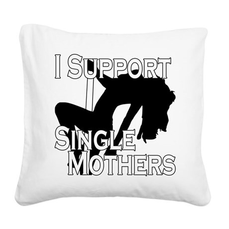 SingleMomsDesign.png Square Canvas Pillow