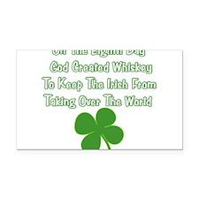 IrishWorldDesign.png Rectangle Car Magnet