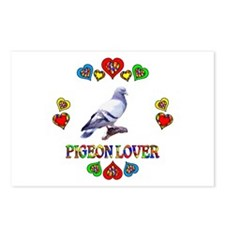 Pigeon Lover Postcards (Package of 8)