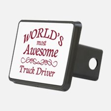 Awesome Truck Driver Hitch Cover