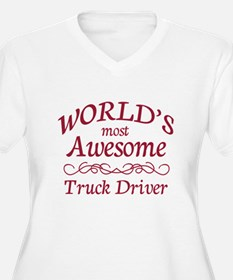 Awesome Truck Driver T-Shirt