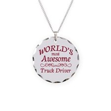 Awesome Truck Driver Necklace