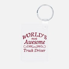 Awesome Truck Driver Keychains