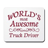 Truck drivers Mouse Pads