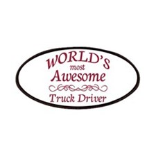 Awesome Truck Driver Patches