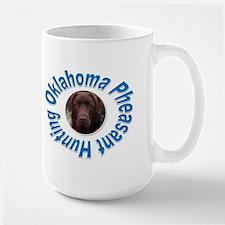 Oklahoma Pheasant Hunting Large Mug