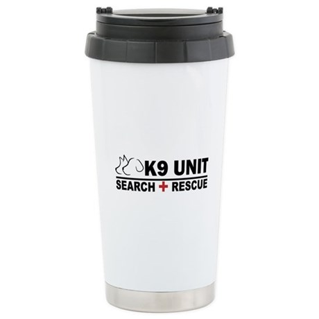 Search and Rescue K9 Unit Stainless Steel Travel M