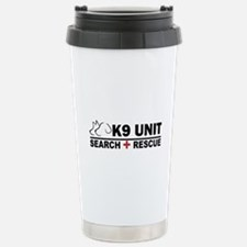 Search and Rescue K9 Unit Travel Mug