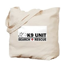 Search and Rescue K9 Unit Tote Bag
