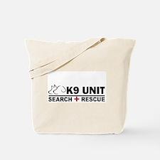Search and Rescue K9 Unit Tote Bag