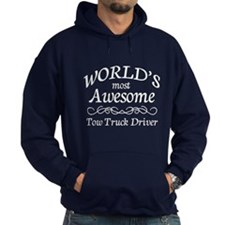 Awesome Tow Truck Driver Hoodie