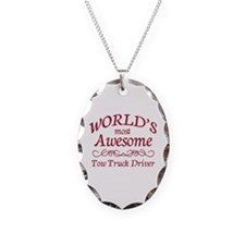 Awesome Tow Truck Driver Necklace