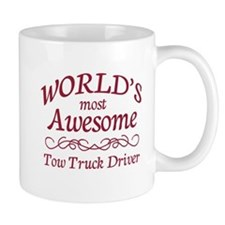 Awesome Tow Truck Driver Mug