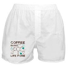 Coffe based life form Boxer Shorts