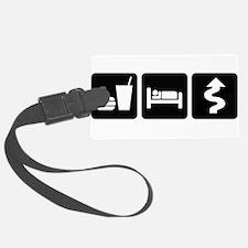 EatSleepTwistyDesign2.png Luggage Tag