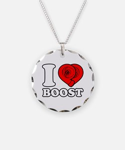 I Heart Boost Necklace