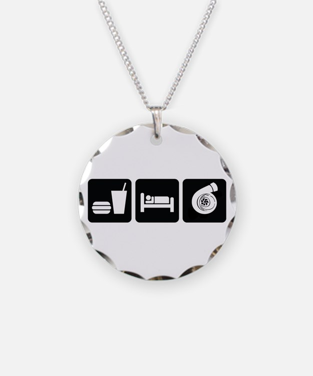 Eat Sleep Boost Necklace