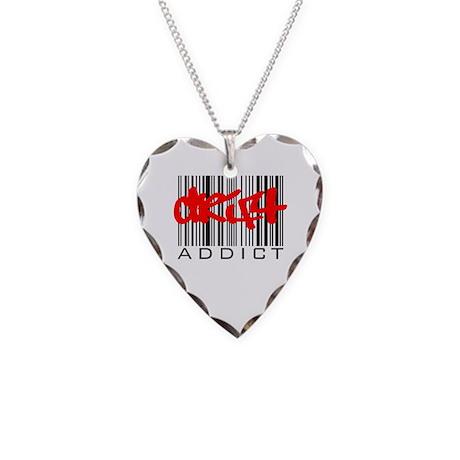 Drift Addict Necklace Heart Charm