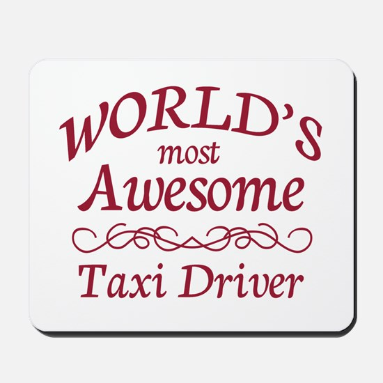 Awesome Taxi Driver Mousepad