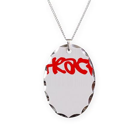 TrackAddictDesign2.png Necklace Oval Charm