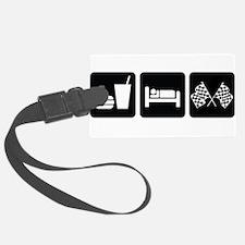 EatSleepRaceDesign2.png Luggage Tag