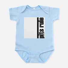 Pit Bulldog Rules Infant Bodysuit