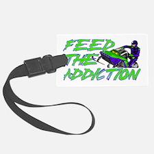 Feed The Addiction Luggage Tag