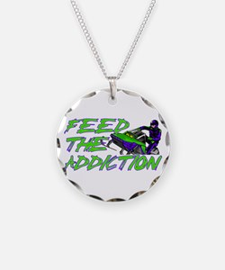 Feed The Addiction Necklace