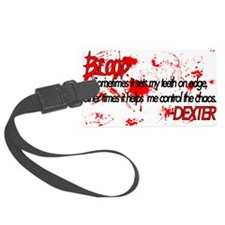 DexterBloodDesign2.png Luggage Tag
