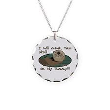 Otter Skull Crush Necklace