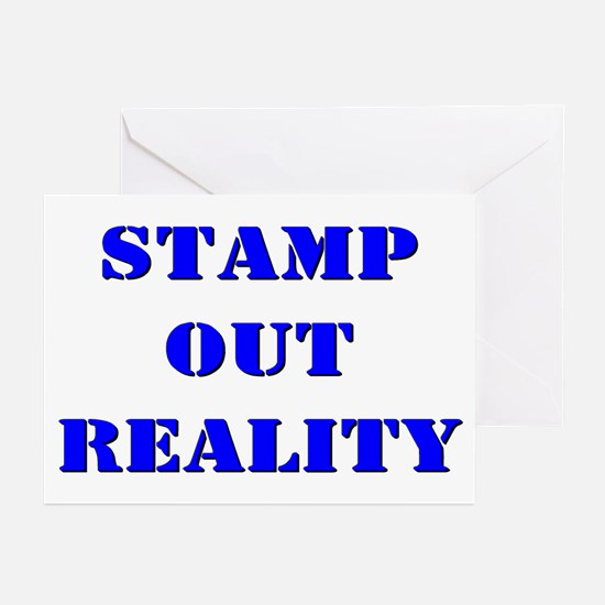 Teen College Reality Greeting Cards (Pk of 10)