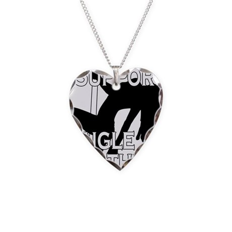SingleMomsDesign.png Necklace Heart Charm