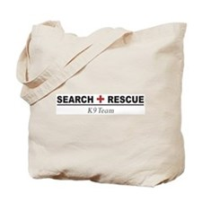 Search and Rescue K9 Team SAR Tote Bag
