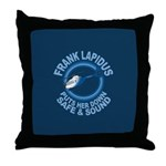 Frank Lapidus Throw Pillow