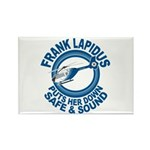 Frank Lapidus Rectangle Magnet