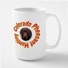 Colorado Pheasant Hunting Large Mug