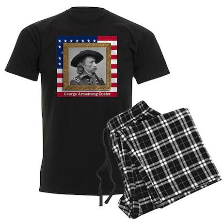 George Armstrong Custer Men's Dark Pajamas