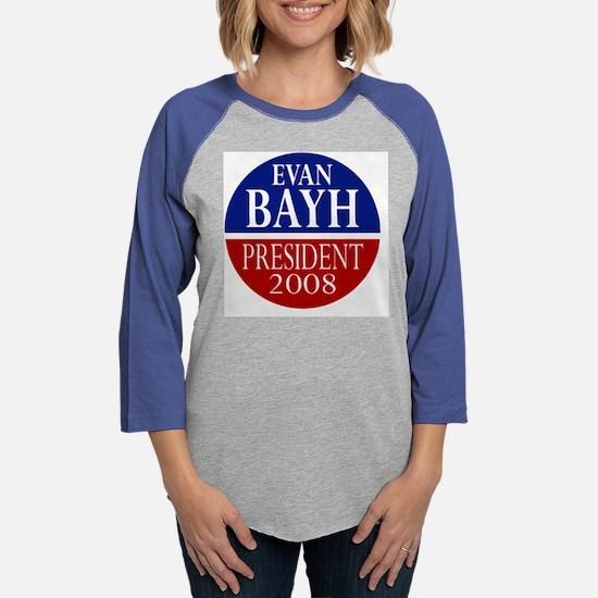 bayhpresidentshirt.psd Womens Baseball Tee