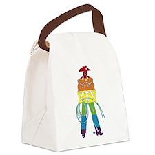 The Gay Cowboy Canvas Lunch Bag