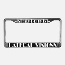 Lateral Visions License Plate Frame
